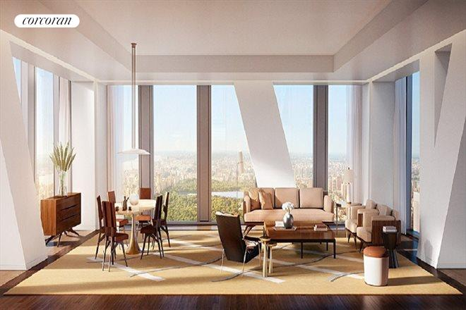 53 West 53rd Street, 55A, Living Room