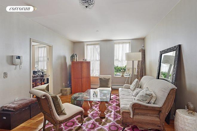 239 West 148th Street, 4S, Living Room