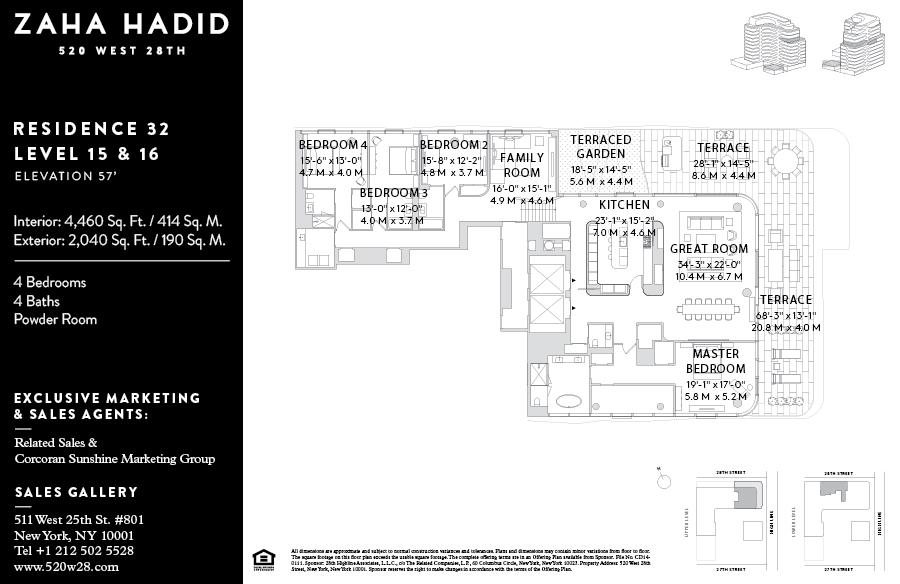 Gotham West Market Floor Plan corcoran, 520 west 28th , 520 west 28th street, chelsea/hudson