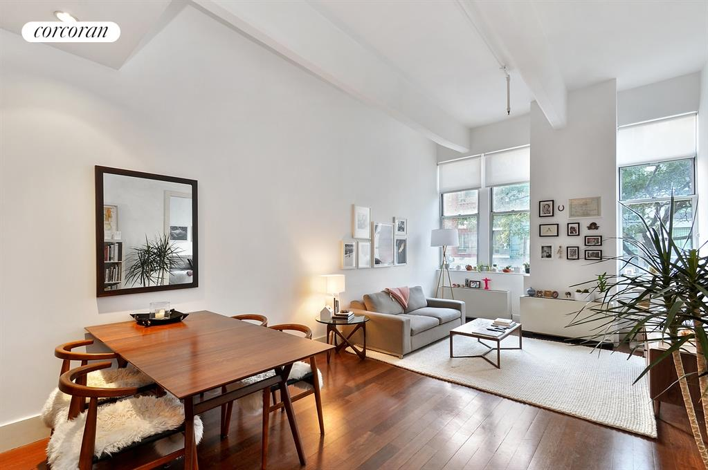 60 Broadway, 2J, Living Room