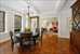 670 West End Avenue, 8F, Dining Room and Living Room