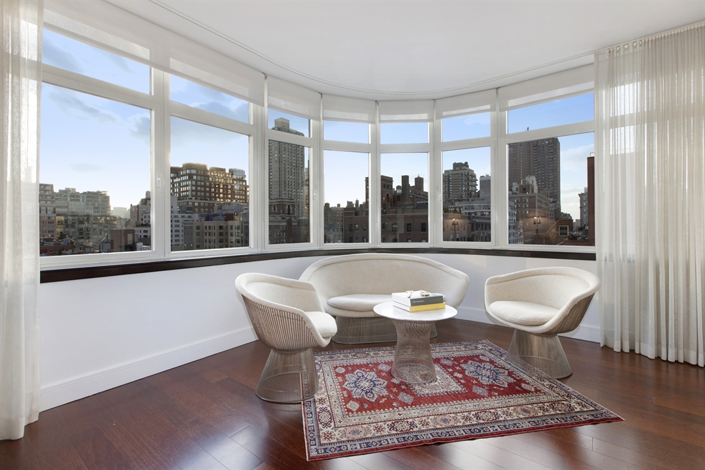 181 East 90th Street, 12A, South-Facing Living Room