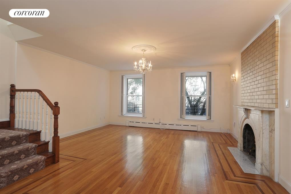 220 East 30th Street, 2-3, Living Room Dining Room