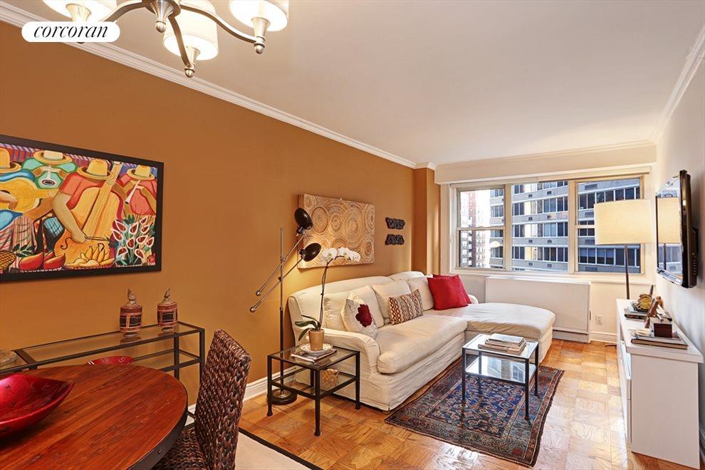 Spacious Sunny Living Room