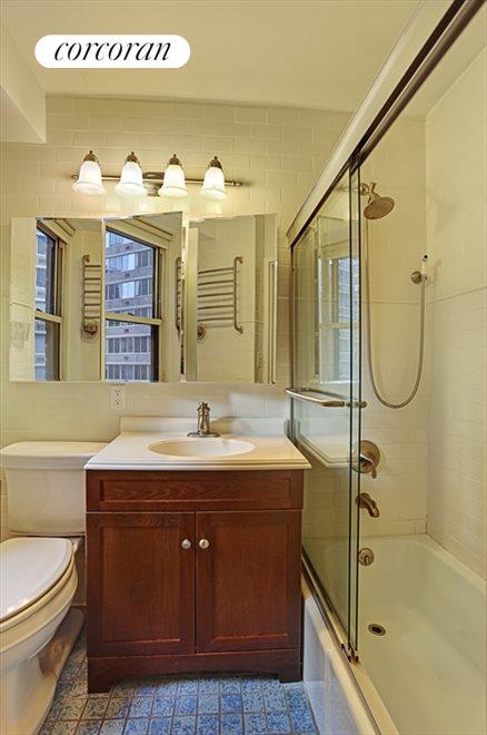 Renovated Windowed Bathroom