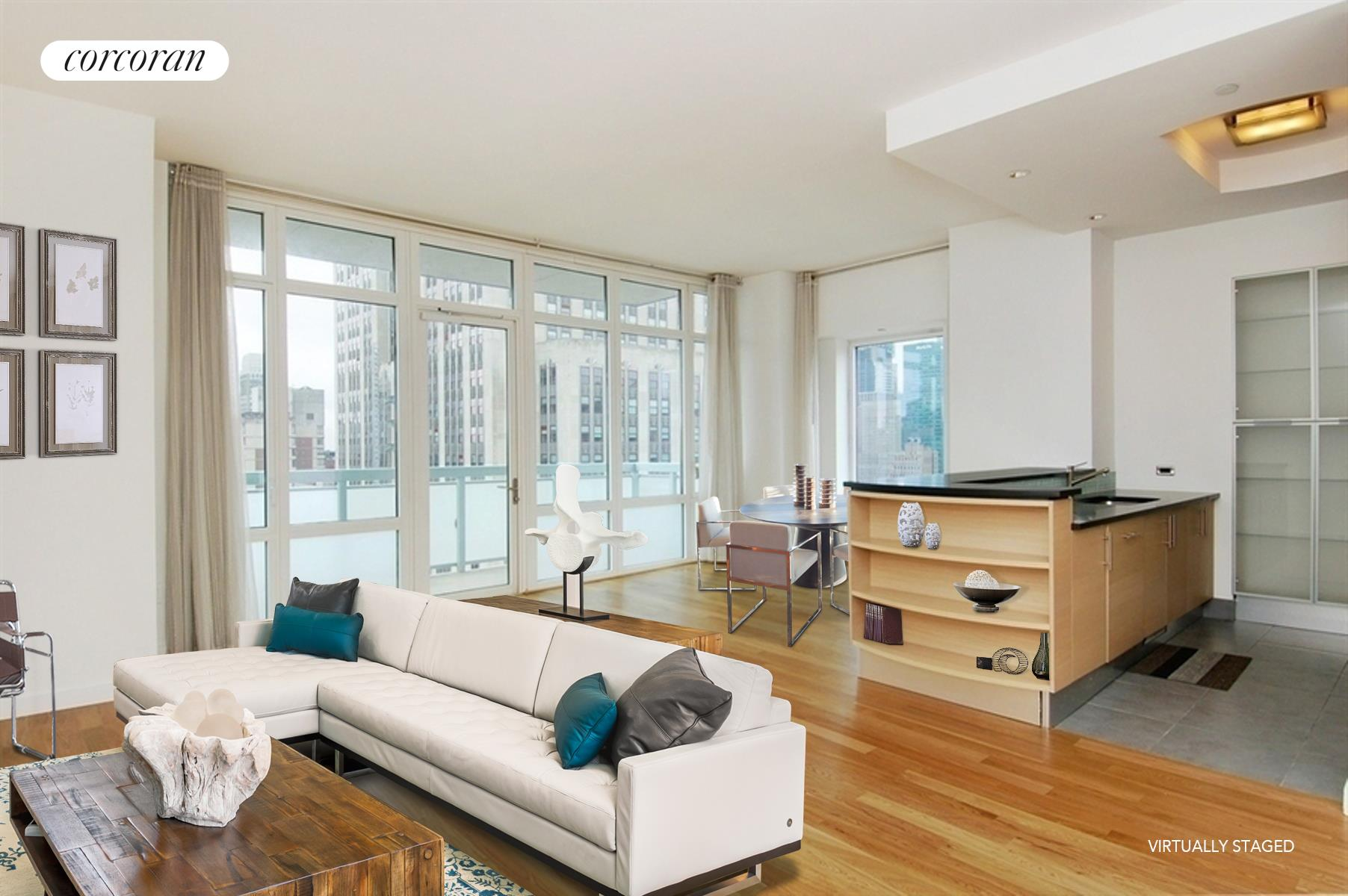 325 Fifth Avenue, 35B, Living Room