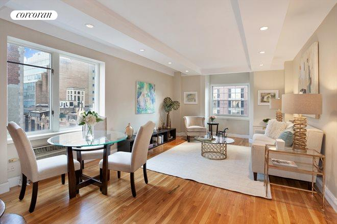 39 West 67th Street, 1401-1501, Living Room