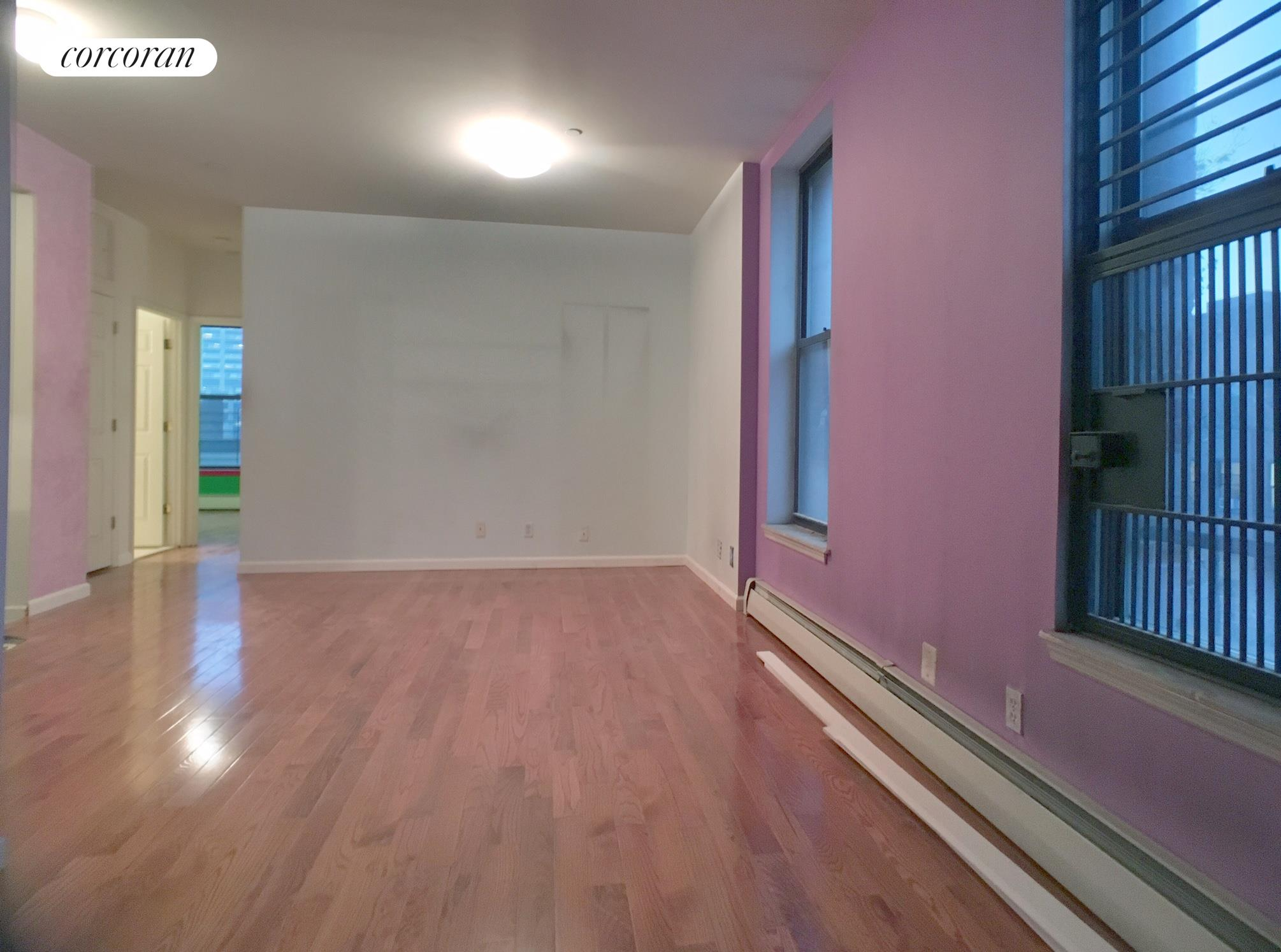 199 West 134th Street, 3A, Open Living/Dining Room