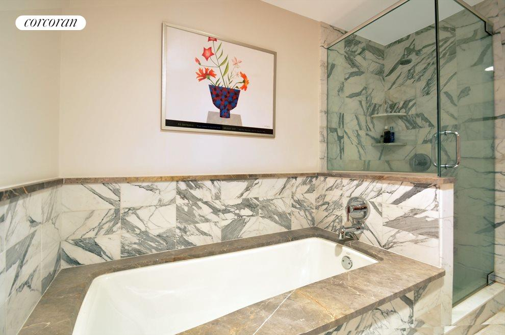 New York City Real Estate | View 440 Kent Avenue, #19D | En-suite bath
