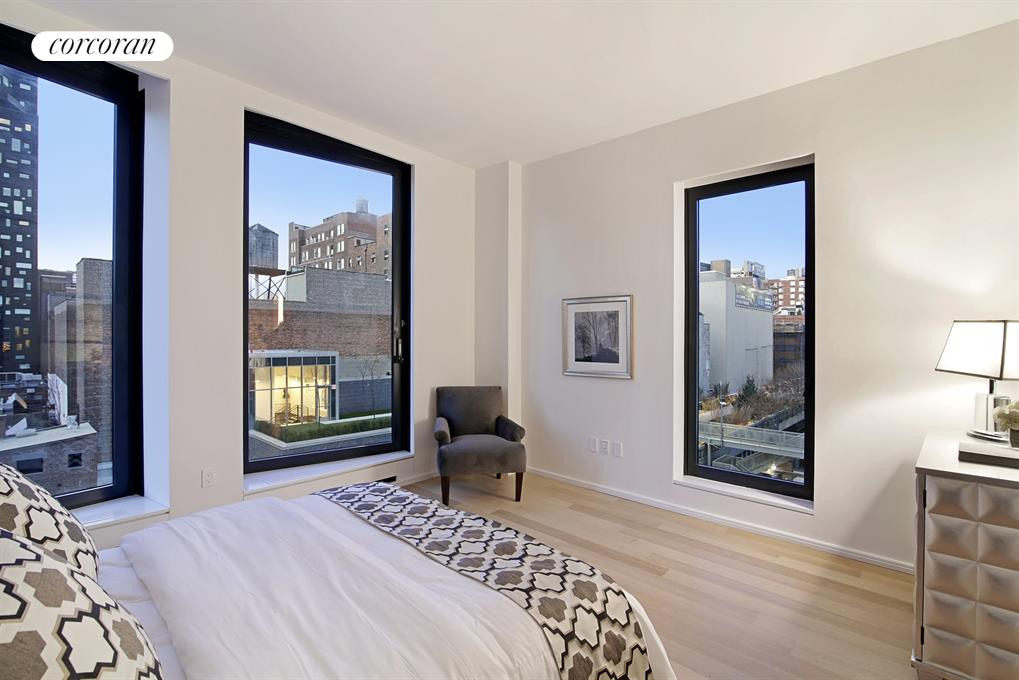 505 West 19th Street, 5C, Master Bedroom