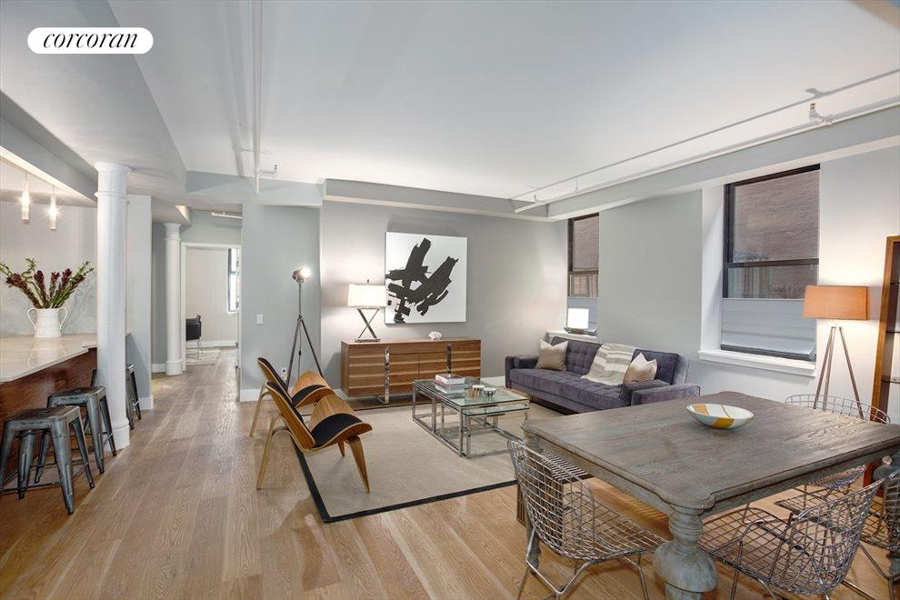 New York City Real Estate | View 133 Mulberry Street, #3B | 2 Beds, 2 Baths