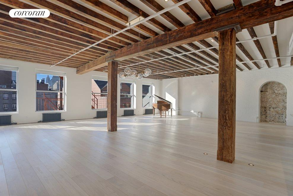New York City Real Estate | View 184 Grand Street, #5th Floor | 3 Beds, 4 Baths
