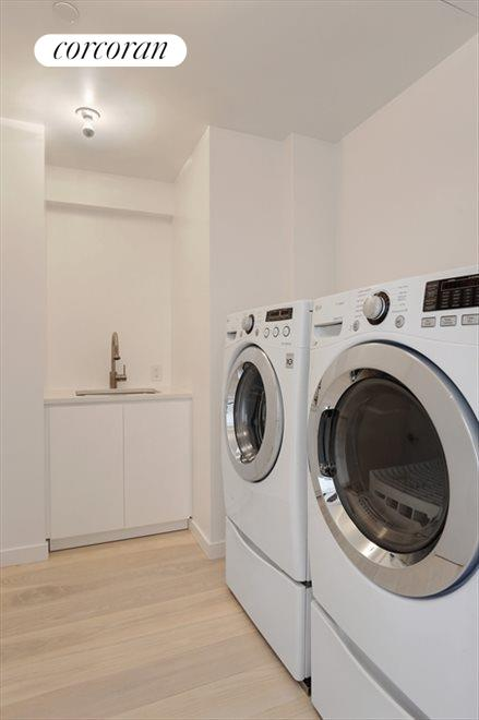 New York City Real Estate | View 184 Grand Street, #5th Floor | Laundry Room