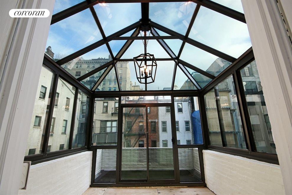 Glass Enclosed Sun Room