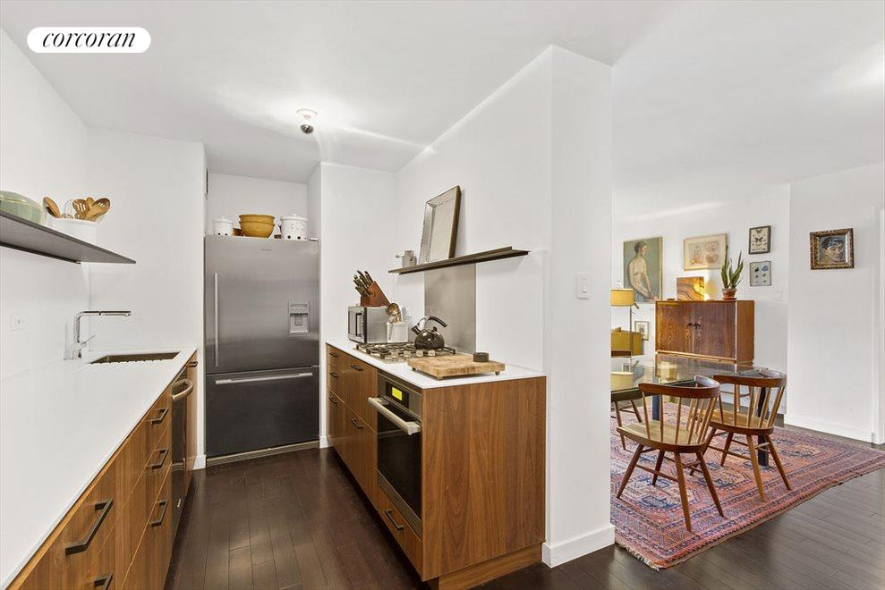 New York City Real Estate | View 2 CHARLTON ST, #6J | Beautifully renovated, large sleek kitchen