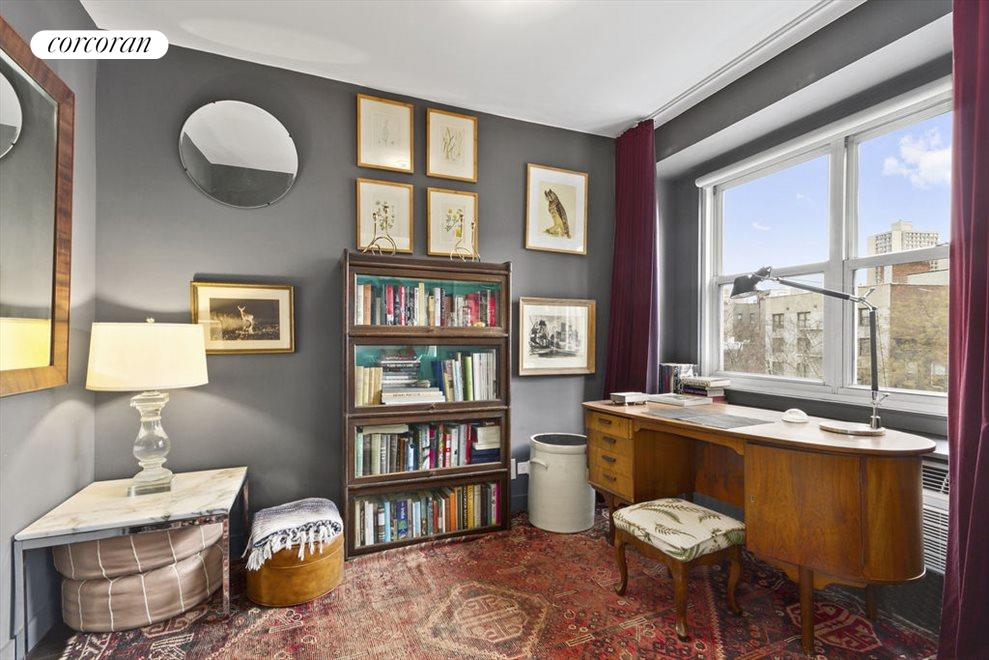 New York City Real Estate | View 2 CHARLTON ST, #6J | Second bedroom/office with large window