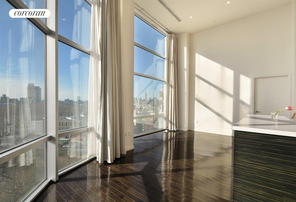 New York City Real Estate | View 524 Manhattan Avenue, #7 | Open Living Room/Dining Room