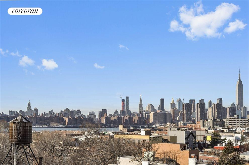 New York City Real Estate | View 524 Manhattan Avenue, #7 | Spectacular view from gigantic wrap around terrace