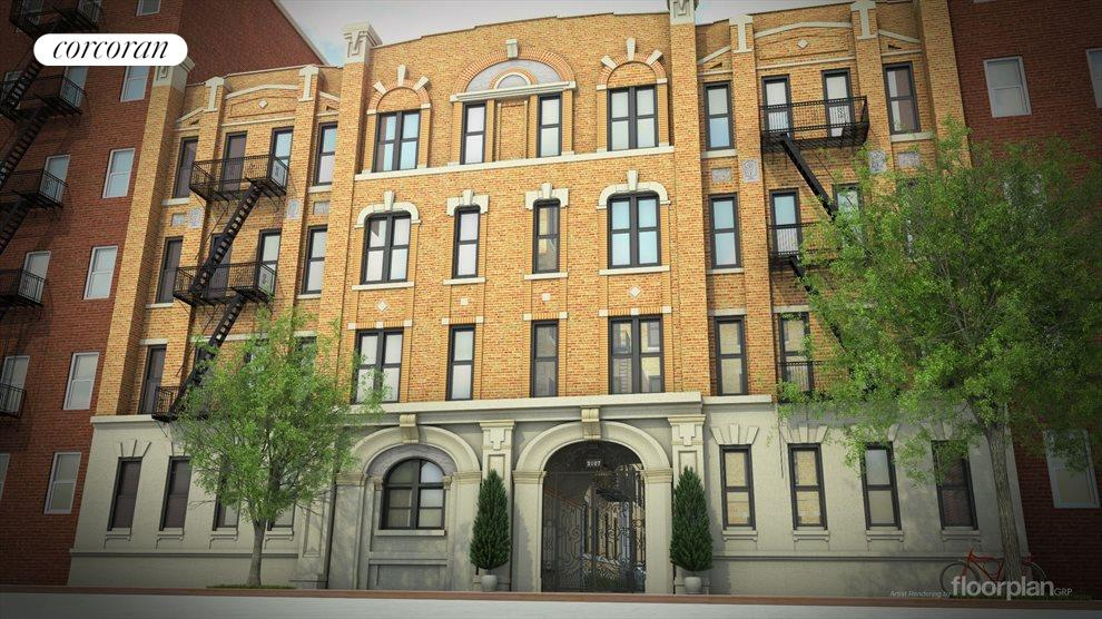 New York City Real Estate | View 2107 Bedford Avenue, #C11 | 2 Beds, 1 Bath