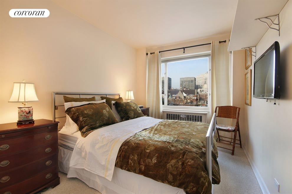 Lovely Bedroom with Open City Views