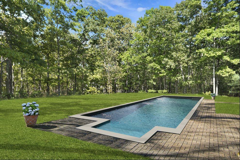 Pool in summer (rendering)