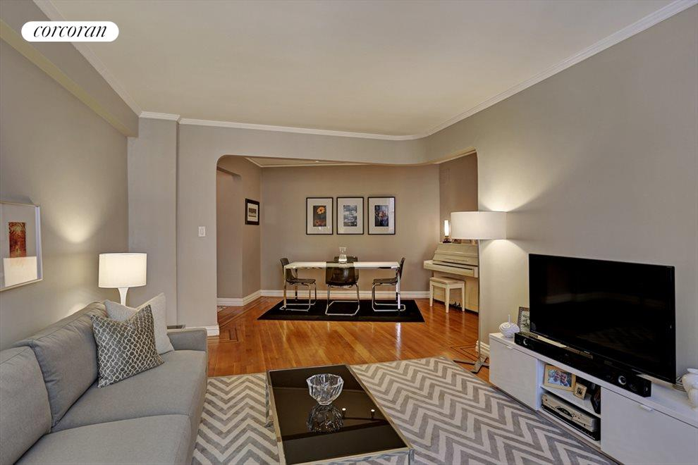 New York City Real Estate | View 736 West 186th Street #7B | Living Room / Dining Room