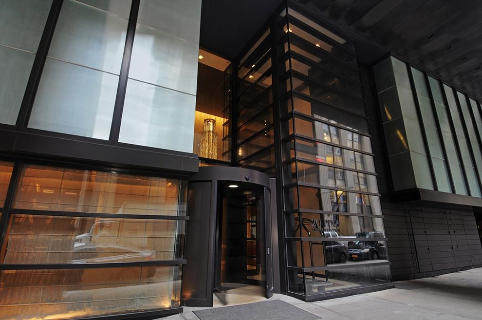 Armani  design entrance and lobby