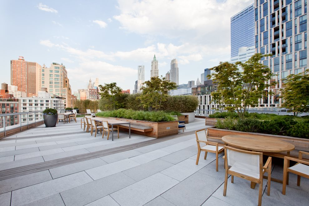 Common Landscaped Roof Terrace