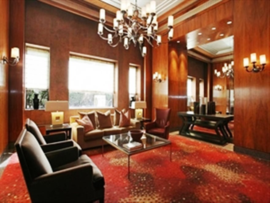 Beautiful Visitor's Lounge in the Building Lobby