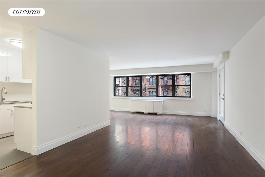Corcoran 235 east 87th street apt 3c upper east side for Living room 86th st