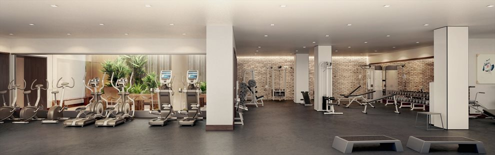New York City Real Estate | View 550 Vanderbilt Avenue, #1008 | Fitness Center