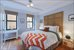 425 East 86th Street, 2D, Master Bedroom with 2 exposures