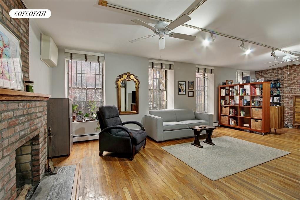 203 West 102nd Street, 2F, Living Room