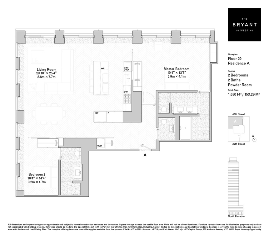 Corcoran The Bryant 16 West 40th Street Midtown West Real – Bryant Homes Floor Plans