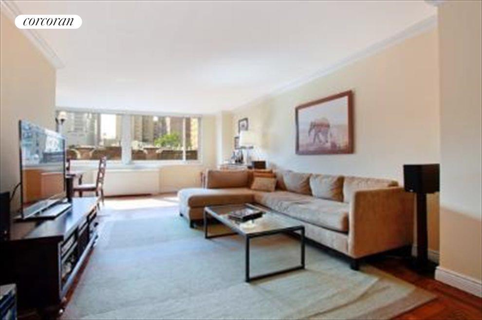 Western Facing Living Room