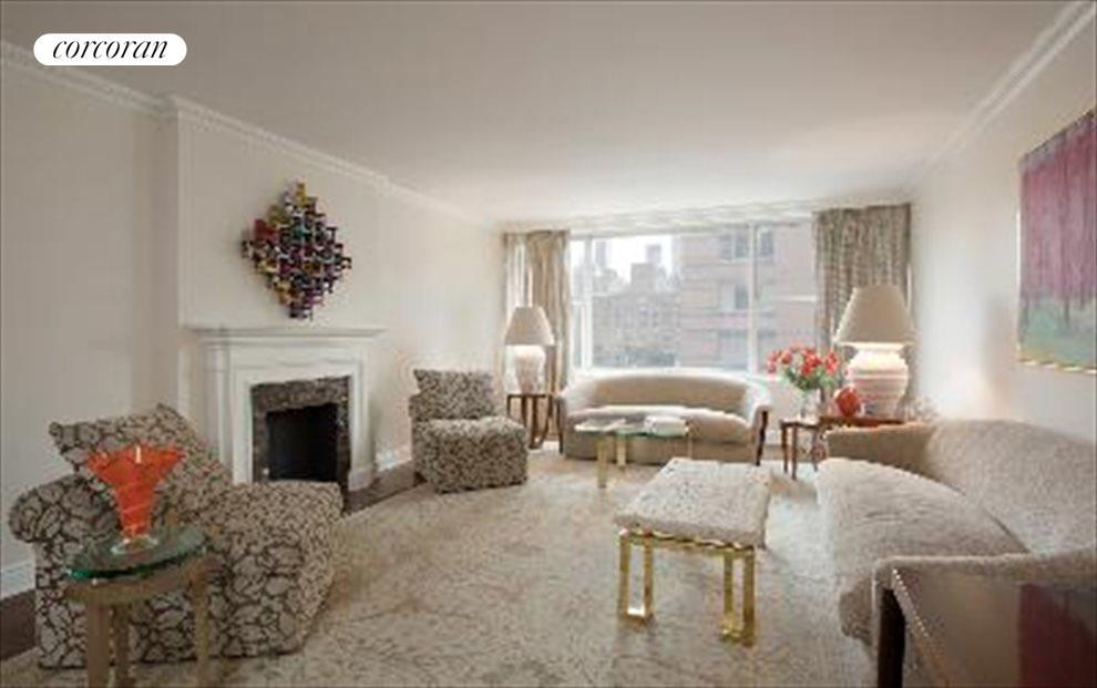 Sunny Spacious Living Room
