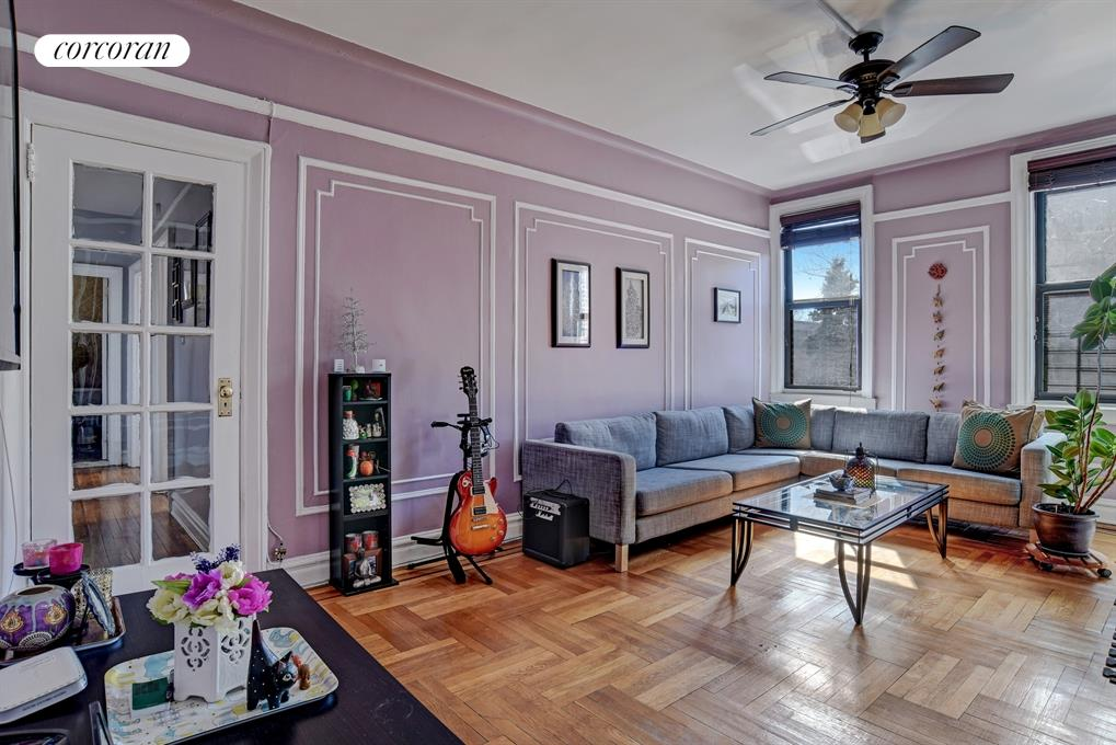Corcoran 7901 4th avenue apt b17 bay ridge real estate for Living room 86th street brooklyn ny