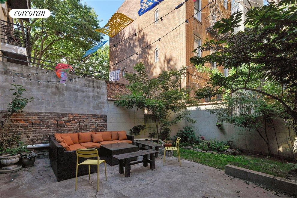 New York City Real Estate | View 303 South 4th Street | Backyard