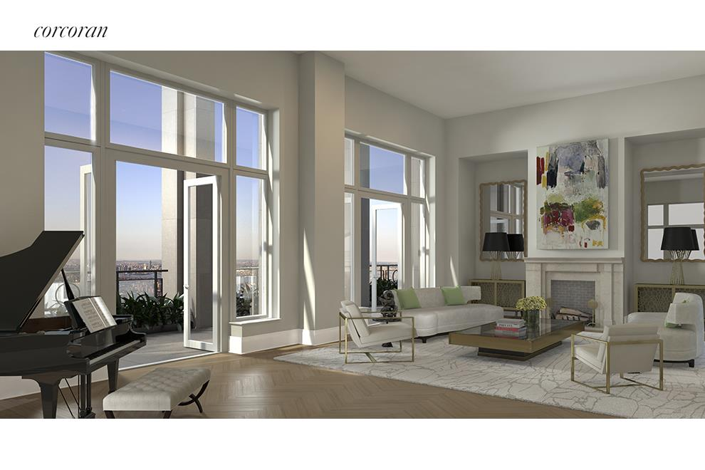 Corcoran 30 park place apt ph78a tribeca real estate for Homes for sale in tribeca