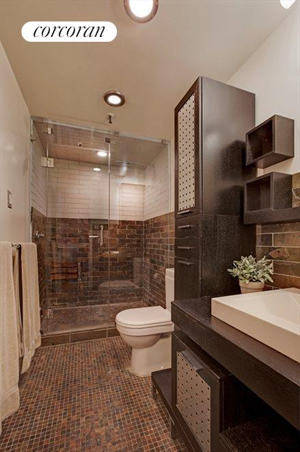 Renovated Bathroom with Steam Shower