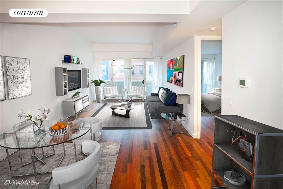 New York City Real Estate | View 125 North 10th Street, #S-3I | 1 Bed, 1 Bath