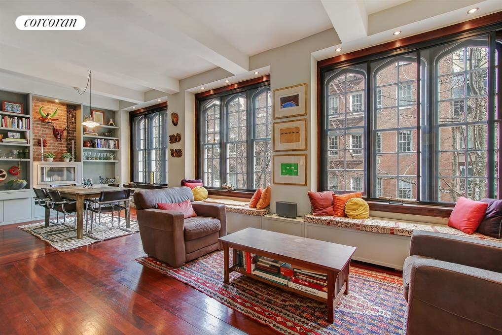 52 East 78th Street, 3AB, Living Room