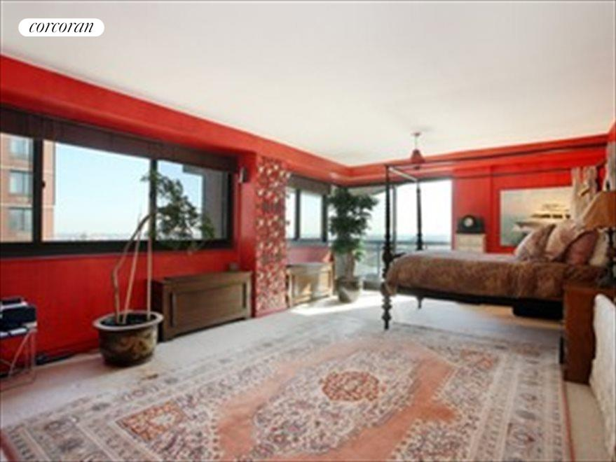 Enormous Master suite with balcony