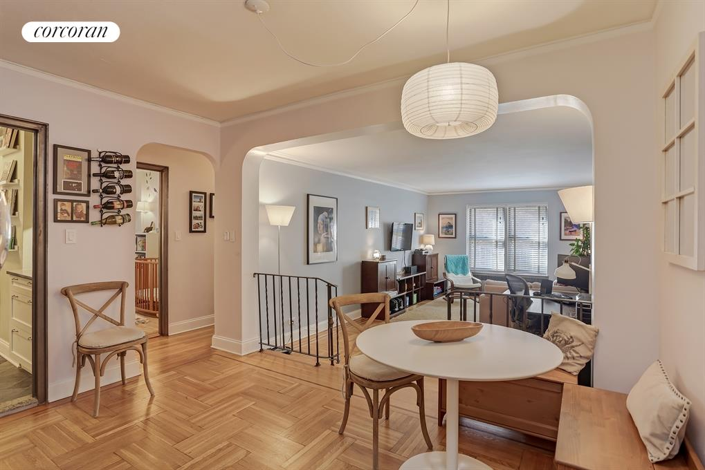 360 CABRINI BOULEVARD, 3C, Living Room / Dining Room