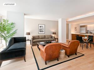 447 West 18th Street, GD2, Living Room