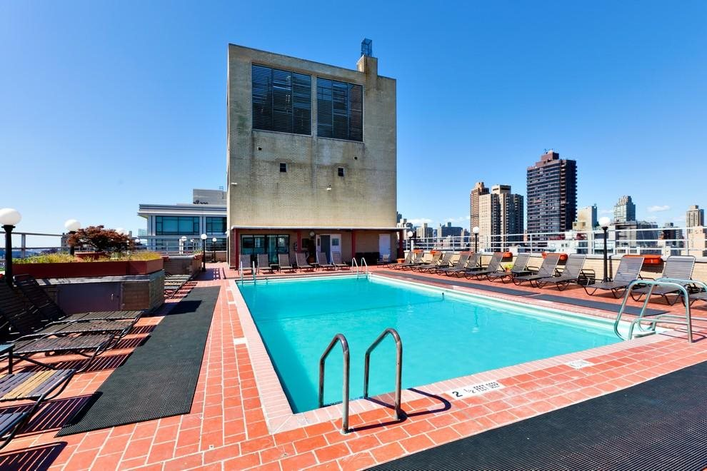 New York City Real Estate | View 180 East End Avenue, #PHG | Outdoor Roof Top Pool with Sundeck