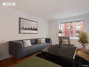 555 West 23rd Street, S8A, Living Room