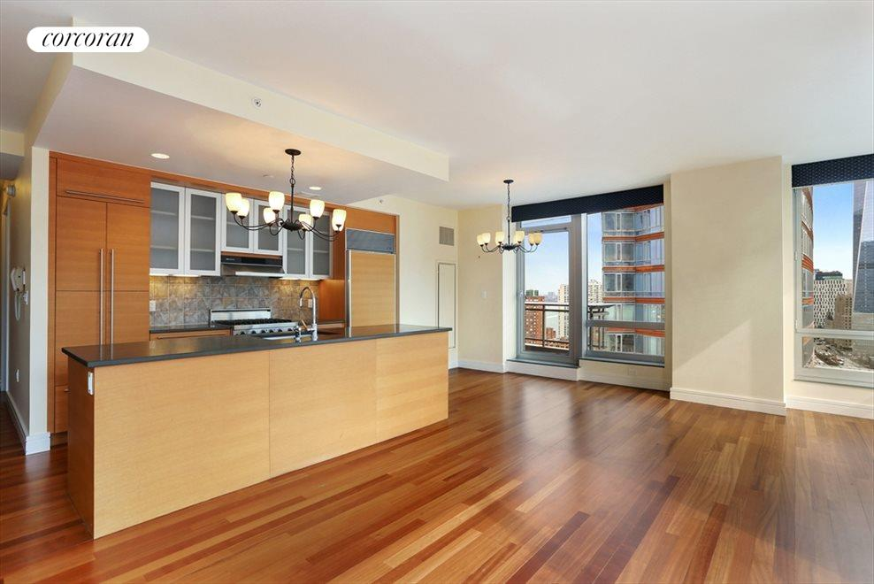 New York City Real Estate | View 30 West Street, #28B | Kitchen