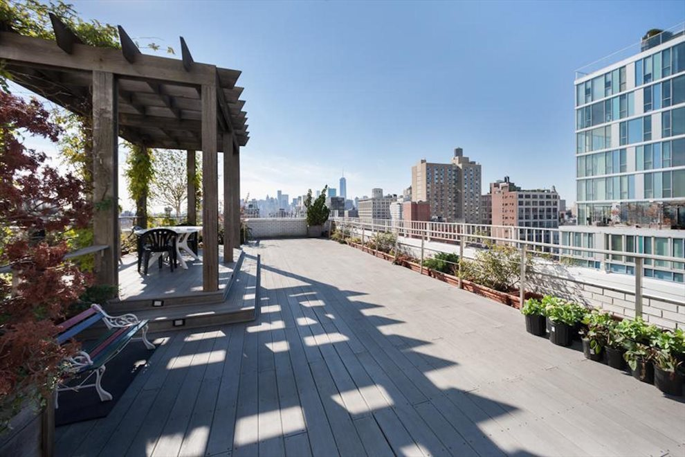 New York City Real Estate | View 111 Third Avenue, #8K | Rooftop Deck with Southern Views