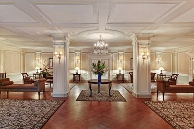 Majestic lobby recently refurbished.